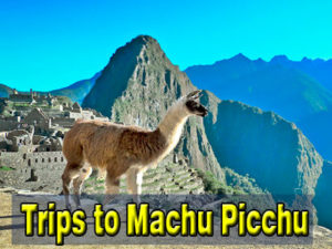 trips tp Machu Picchu